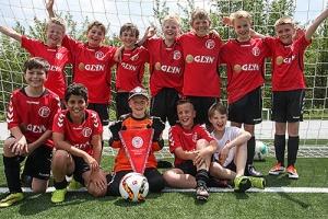 Idsteiner E1-Jugend-Fußballer haben wieder zugeschlagen