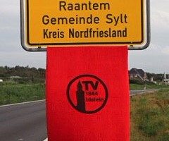 Weitgereistes TVI-Handtuch