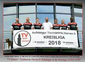 Fa. innomatec empfängt Tischtennis-Herrenmannschaft II.