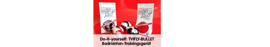 """""""TVIFLY-BULLET"""" ein Toptrainingsgerät"""