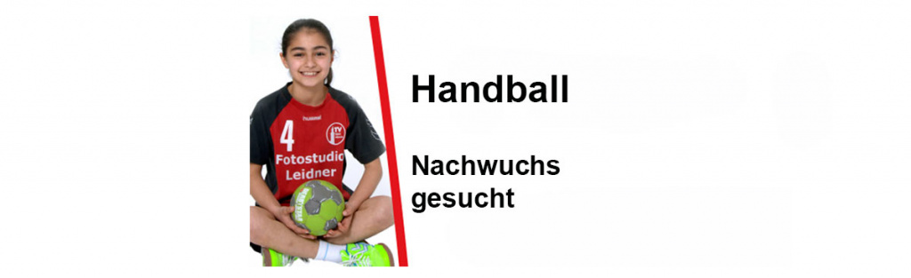 Handball-Nachwuchs gesucht