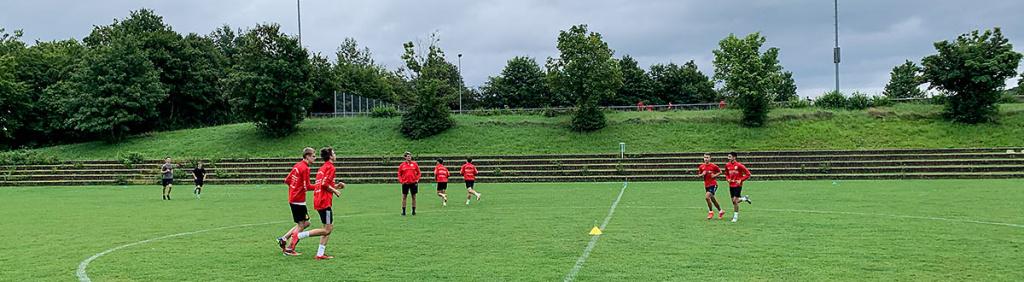 Finale Saisonvorbereitung der Fußball-Jugend