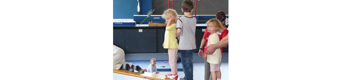 Eltern-Kind-Turnen 1 bis 3 Jahre